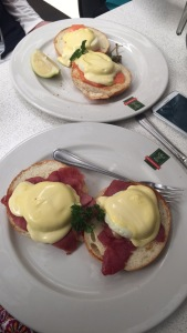 Eggs Benedict & Salmon Benedict from Europa Parkview