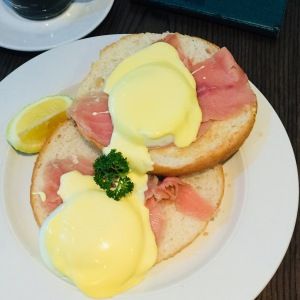 Salmon Benedict from Europa Parkview